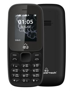 POWERTECH Κινητό Τηλέφωνο Milly Small ΙΙ NC PTM-28, χωρίς κάμερα, μαύρο PTM-28 id: 41289