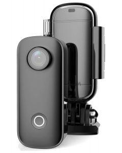 SJCAM Mini Action Cam C100+, 2K, 15MP, WiFi, αδιάβροχη, μαύρη SJ-C100 id: 42510