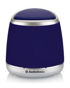 AUDIOSONIC φορητό ηχείο SK-1506, bluetooth/3.5mm, 400mAh, μπλε SK-1506 id: 34336