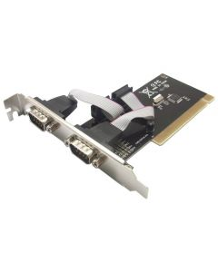 POWERTECH Κάρτα Επέκτασης PCI to 2x Serial (RS232), Chipset WHC351 SLOT-005 id: 8080