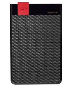 SILICON POWER εξωτερικός HDD 2TB Diamond D30 D3S, USB 3.1, μαύρος SP020TBPHDD3SS3K id: 31193