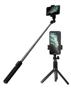 BASEUS bluetooth selfie stick & τρίποδο SUDYZP-F01, μαύρο SUDYZP-F01 id: 33293