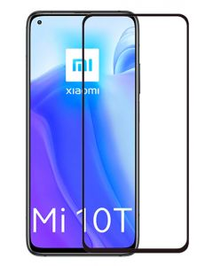 POWERTECH Tempered Glass 5D, full glue, Xiaomi Mi 10T/Lite/Pro 5G, μαύρο TGC-0464 id: 36056