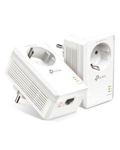 TP-LINK Powerline kit TL-PA7017P, Passthrough, AV100 Gigabit, Ver. 4.0 TL-PA7017P-KIT id: 41173