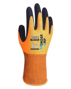 WONDER GRIP αντιολισθητικά γάντια εργασίας Comfort, 8/M, πορτοκαλί WG-310HO-8M id: 36539