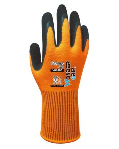 WONDER GRIP αντιολισθητικά γάντια εργασίας Thermo Lite, XXL/11, πορτοκαλί WG-320-11XXL id: 41753