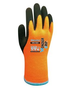 WONDER GRIP αντιολισθητικά γάντια εργασίας Thermo, 9/L, πορτοκαλί WG-380-9L id: 36535