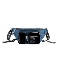 SUPER FIVE τσάντα μέσης Y00015-BL, μπλε Y00015-BL id: 36500