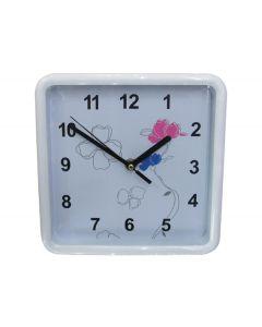 Τετράγωνο ρολόι τοίχοι 20x20cm με παραστάσεις [10302161] - AGC