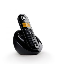 Motorola C601 Μαύρο (Ελληνικό Μενού) Ασύρματο τηλέφωνο με ανοιχτή ακρόαση 14587-8601