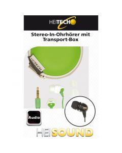 Heitech 09001394 In Ear ακουστικά με θήκη μεταφοράς 19791-0022