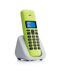 Motorola T301 Lime Lemon (Ελληνικό Μενού) Ασύρματο τηλέφωνο με ανοιχτή ακρόαση 14587-9246