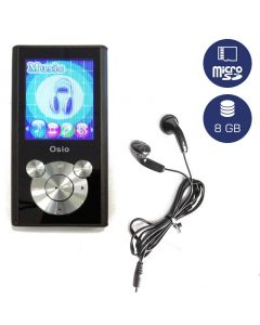 Osio SRM-9080BS MP3 video player 8 GB 19585-9080
