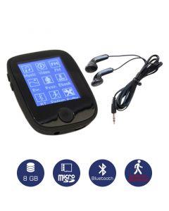 Osio SRM-8680B Mp3 / video player με Bluetooth και βηματομετρητή 8 GB 19585-8680