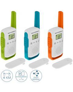 Motorola TALKABOUT T42 Τριπλό Walkie Talkie 4 km 14587-0011