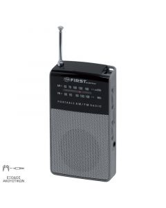 First Austria FA-2314-1-GR Αναλογικό φορητό ραδιόφωνο 19983-0037