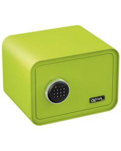 Olympia GOSAFE100 C GR Πράσινο Χρηματοκιβώτιο με ηλεκτρονική κλειδαριά 26 x 35 x 28 cm 1106452-0005