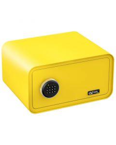 Olympia GOSAFE200 C GR Κίτρινο Χρηματοκιβώτιο με ηλεκτρονική κλειδαριά 24 x 43 x 36 cm 1106452-0013