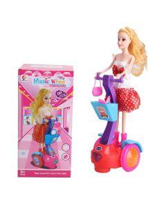 Παιδική κούκλα πάνω σε πατίνι - 978-13 - 505824