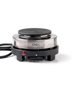 Osio OHP-2410 Μονή ηλεκτρική εστία 10 cm με θερμοστάτη 500 W 1120194-0001