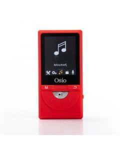 Osio SRM-9380R MP3 video player με audio in και micro SD – 8 GB 19585-9381