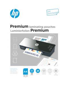HP 9122 Premium φύλλα πλαστικοποίησης με τρύπες αρχειοθέτησης για Α4 – 125 microns – 25 τμχ - 113049-0021