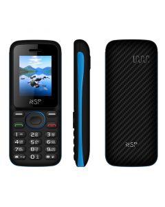 NSP 1800DS BLACK / BLUE (Ελληνικό Μενού) Κινητό τηλέφωνο Dual SIM με Bluetooth και οθόνη 1.8″ - 15187-0003