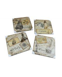 Κάδρο 50 x 50 εκ. Travelers Era [70608138] - General Trade