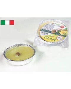 Κερί κήπου σιτρονέλα σε αλουμινένιο πιατάκι [70608155] - General Trade