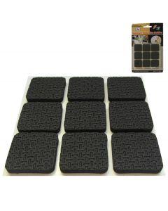 Σετ 18 τετράγωνα αυτοκόλλητα λαστιχάκια για καρέκλες, τραπέζια και κάδρα [30501354] - AGC