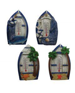 Μαγνητάκι ψυγείου βάρκα με θερμόμετρο [10803159] - AGC