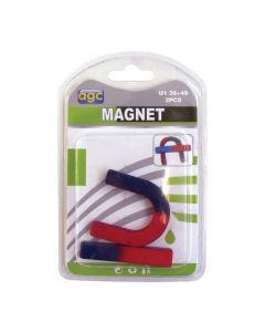 Σετ 2 μαγνητάκια ανάρτησης U και I [30601276] - AGC