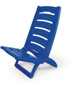 Καρεκλάκι Παραλίας Πλαστικό Μπλε - 12773