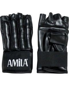 Γάντια σάκου δερμάτινα, M - 43692
