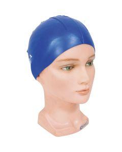 Σκουφάκι πισίνας απλό μονόχρωμο με κουκίδες, Μπλε - 47002 OEM