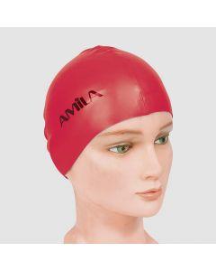 Σκουφάκια πισίνας απλά μονόχρωμα, Κόκκινο - 47014