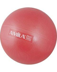 Μπάλα Pilates 25cm Κόκκινη - 48427