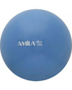 Μπάλα Pilates, 25cm, Μπλε, bulk - 48435