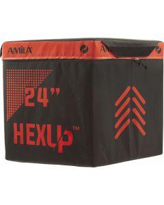 Εξάγωνο Πλειομετρικό Κουτί AMILA HEXUP™ 60cm - 95134