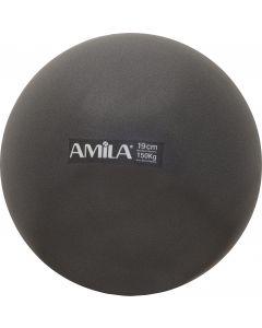 Μπάλα Pilates 19cm Μαύρη - 95802