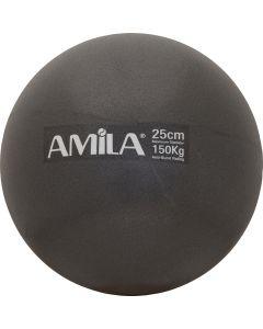 Μπάλα Pilates 25cm Μαύρη - 95816