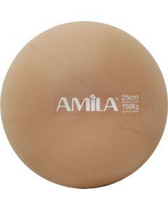 Μπάλα Pilates, 25cm, Χρυσή, bulk - 95818