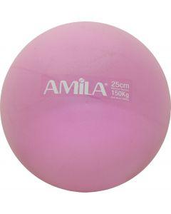 Μπάλα Pilates, 25cm, Ροζ, bulk - 95820