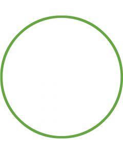 Χούλα-Χουπ 60cm - Φ19mm - 230gr, Πράσινο - 98800