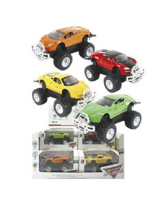 DIE CAST FRICTION OFF ROAD SUPER CAR 10.5cm 13cm ToyMarkt 902045 70-2025