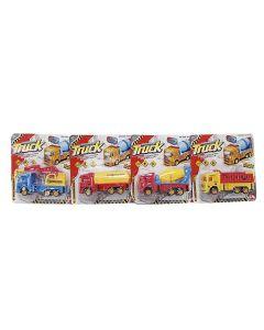 ΔΟΜΙΚΑ ΟΧΗΜΑΤΑ FRICTION ΣΕ ΚΑΡΤΕΛΑ 18x19cm ToyMarkt 902053 70-2033