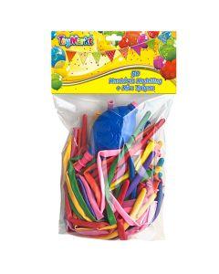 ΜΠΑΛΛΟΝΙΑ MODELLING 50 TEM & MINI ΤΡΟΜΠΑ  ToyMarkt 913059 71-3039