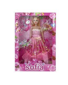 ΚΟΥΚΛΑ SOFIA  ΔΑΝΤΕΛΑ 20x32cm ToyMarkt 92348 72-328