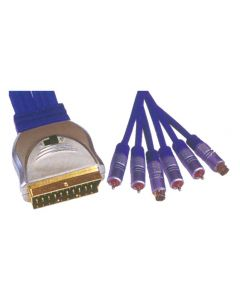 SCART-4RCA+2 S-VHS CR-647/1.5M