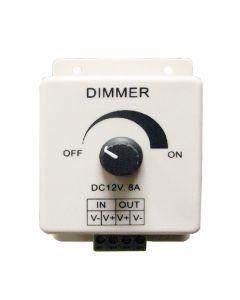 DIMMER  LED ΑΠΛΟ  8Α DCR-102